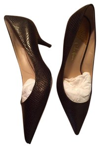 Cole Haan Kitten Heel metallic bronze Pumps