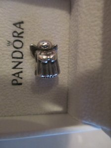 PANDORA Authentic Pandora Sterling Silver Angel of Hope Bead 790337