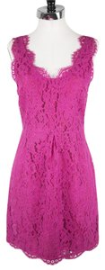 Joie short dress Pink Nwt Lace Cocktail on Tradesy