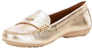 Coach Loafer Odette Casual Espadrilles Casual Gold Flats