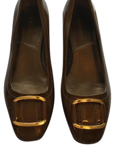 Tahari Brown with a subtle iridescent Flats