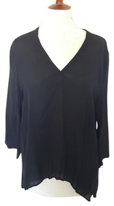 Zara Sheer Top Black