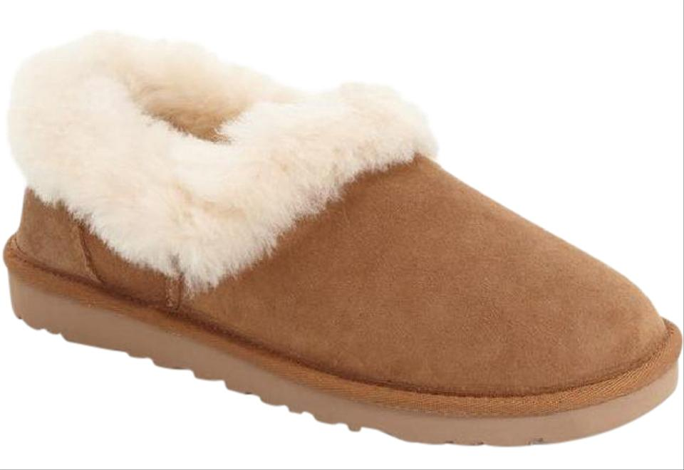 db12c66e9d3 UGG Australia Chestnut Brown Nita Suede Shearling Loafer Slipper Flats Size  US 7 Regular (M, B) 24% off retail