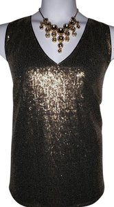 Lane Bryant Top Gold
