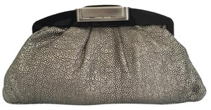 Judith Leiber Pewter Clutch