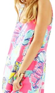 Lilly Pulitzer short dress kir royal pink swept by the tides on Tradesy
