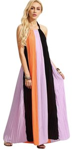 Multi Maxi Dress by SheIn Maxi Colorblock Day Easy