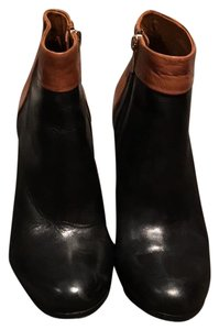 Sam Edelman Black and Brown Boots