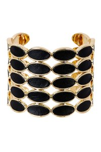 House of Harlow 1960 House of Harlow 1960 Del Sol Leather Cuff Black