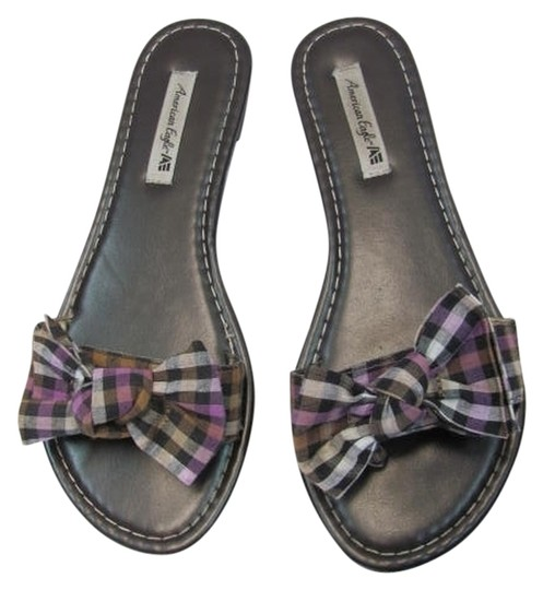 Preload https://item2.tradesy.com/images/american-eagle-outfitters-size-7-brown-lavender-tan-sandals-2071971-0-0.jpg?width=440&height=440