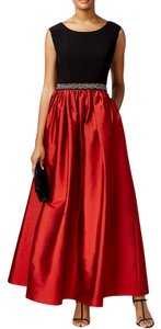 Alex Evenings Embellished Sleeveless Ball Gown Dress