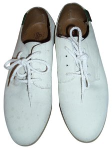 Bass 5.5 7 7/5 Casual ivory Flats
