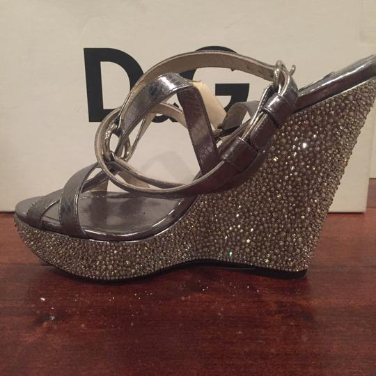 Dolce&Gabbana silver Wedges