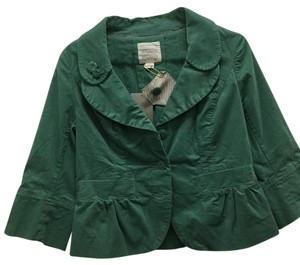 Anthropologie green Blazer