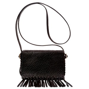 B Brian Atwood Leather Cross Body Bag