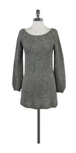 Vince short dress Grey Knit Sweater on Tradesy