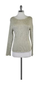 Vince Silver Knit Sweater
