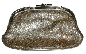 agnee Vintage gold/glitter Clutch
