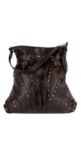 Preload https://img-static.tradesy.com/item/20720502/le-bulga-brown-leather-studded-butterfly-tote-0-0-540-540.jpg