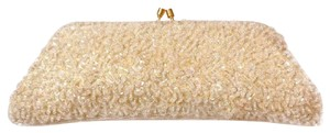 Stephanie Sequin Beaded Embellished Iridescent Shimmer Clutch