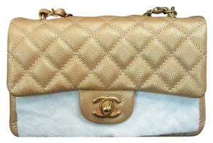 Chanel Mini Rectangular Caviar Flap Cross Body Bag