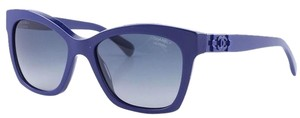 Chanel Chanel Cat Eye Pantos Sunglasses Dark Blue Italy