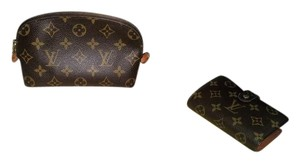 Louis Vuitton PERFECT Louis Vuitton Combo French Wallet and Cosmetics Bag offer!!
