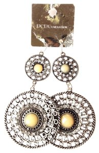 BCBGeneration bohemian antique silver color earrings