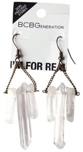 BCBGeneration Quartz stone earrings