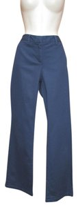 Boden Chino Boot Boot Cut Pants Blue