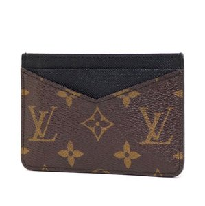 Louis Vuitton Monogram Neo Porte Cartes Macassar Card Holder