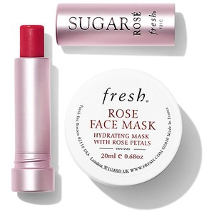 Fresh FRESH SUGAR ROSE TINTED LIP TREATMENT SPF 15 & ROSE FACE MASK