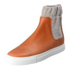 MM6 Maison Martin Margiela Brown / Gray Boots