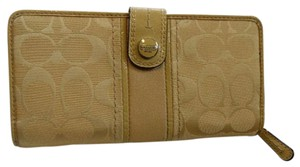 Coach Buttercup Yellow Wallet
