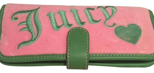 Item - Pink and Green Cotton Clutch