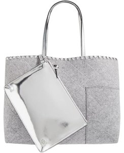 Tory Burch Block T Felt Tote Shoulder Bag