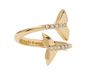 Kate Spade Kate Spade off we go whale ring