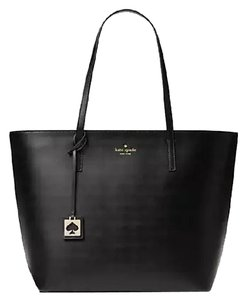 Kate Spade Leather New With Tags Tote in Black