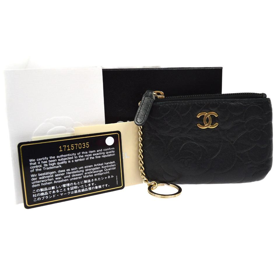 f2064ed92753 Chanel CHANEL Camellia Coin Purse Wallet Image 0 ...