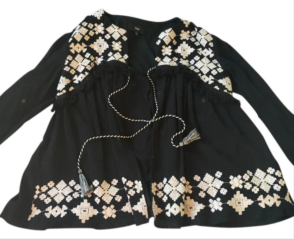 f491b5fe34 Target Black Embroidered Swing Top Adorable Zara-esk Cardigan with ...