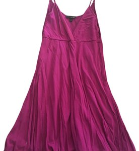 The Limited short dress fuchsia on Tradesy