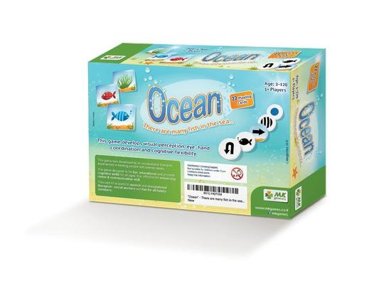 MKgames Educational Family Game Promotes Cognitive Skills Ocean
