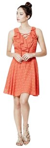 Guess short dress Orange Sleeveless Woven on Tradesy