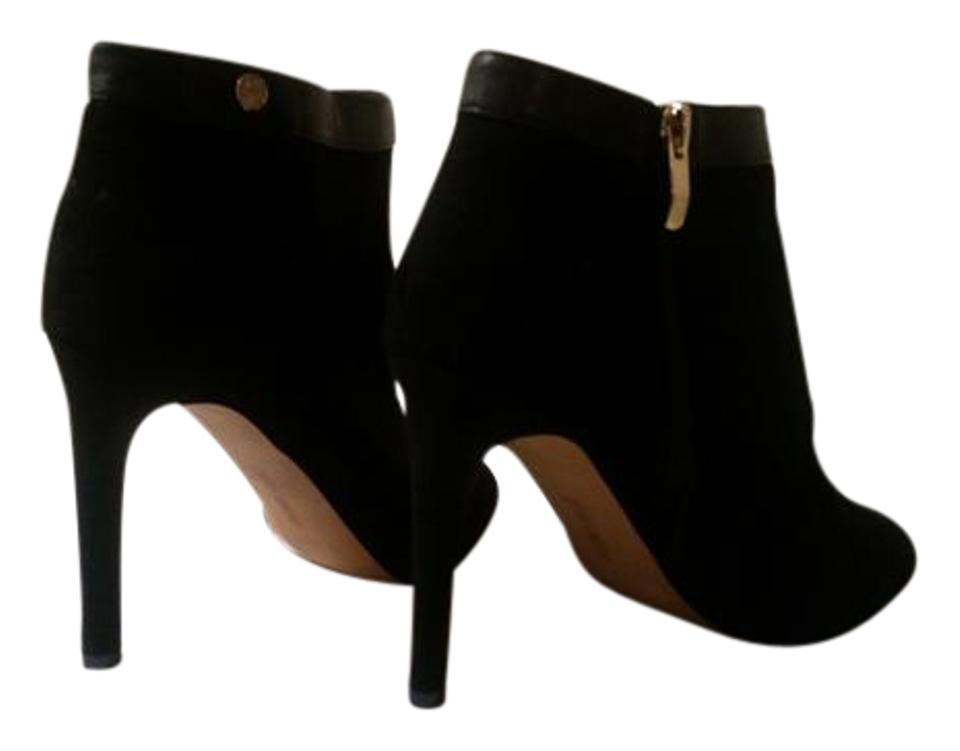 Vince Camuto Open Black Open Camuto Toe Suede Boots/Booties 036d7f