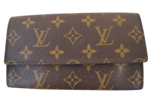 Louis Vuitton Louis Vuitton Monogram Porte Yen 3 Cartes Credit Card Wallet