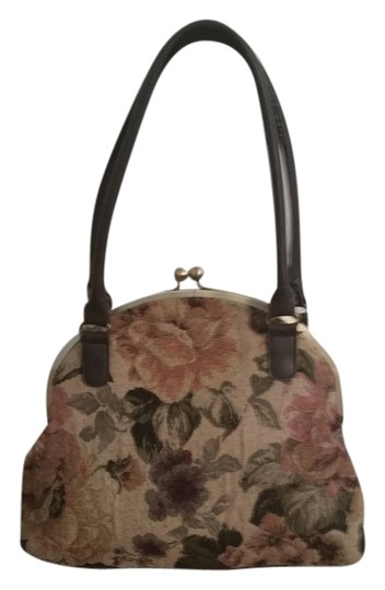 Icing Floral Vintage Inspired Shoulder Bag
