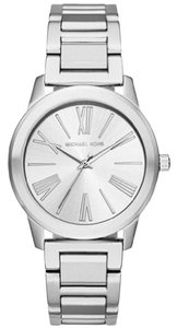 Michael Kors NEW WOMENS MICHAEL KORS (MK3489) HARTMAN SILVER STAINLESS STEEL WATCH