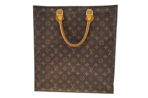 Louis Vuitton Lv Sac Plat Monogram Handbag Tote