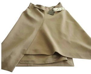 Saint Laurent Skirt Taupe/Camel