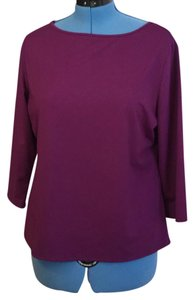 Peck & Peck T Shirt purple
